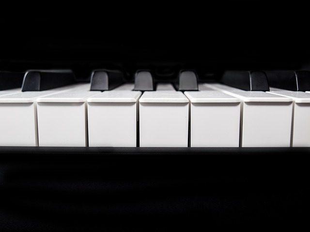 e piano tastatur